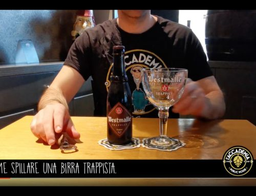 Come spillare una birra trappista